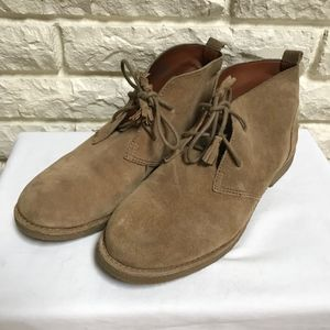 Lucky Brand Eberline tan Chukka Ankle boots 7.5